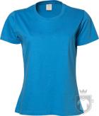 Camisetas Tee Jays Sof Tee W color Azure :: Ref: 310