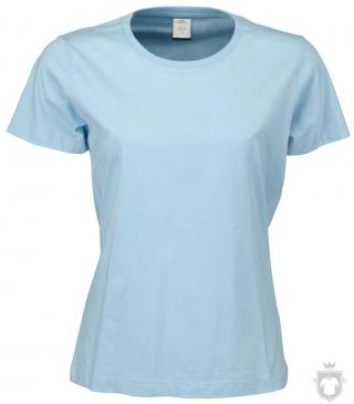 Camisetas Tee Jays Sof Tee W color Sky Blue :: Ref: 320