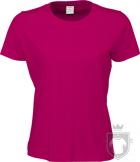 Camisetas Tee Jays Sof Tee W color Hot Pink :: Ref: 423
