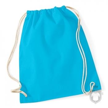 Bolsas WM Gymsac algodon color Surf Blue :: Ref: 213