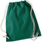 Bolsas WM Gymsac algodon color Bottle Green :: Ref: BG