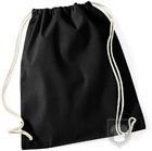 Bolsas WM Gymsac algodon color Black :: Ref: BK
