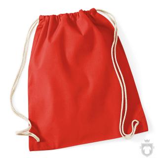 Bolsas WM Gymsac algodon color Bright Red :: Ref: BRE