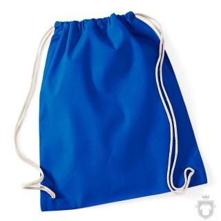 Bolsas WM Gymsac algodon color Bright Royal :: Ref: BRO
