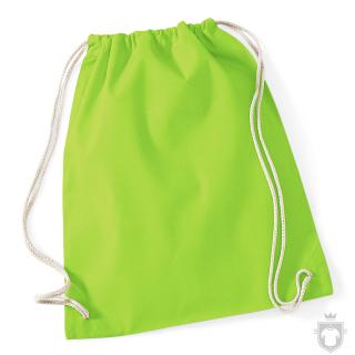 Bolsas WM Gymsac algodon color Lime Green :: Ref: LIM