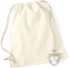 Bolsas WM Gymsac algodon color Natural :: Ref: WH