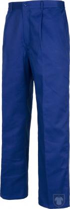 Pantalones Work Team laboral Industrial color Azulina :: Ref: AZ