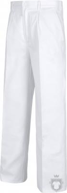 Pantalones Work Team laboral Industrial color White :: Ref: BL