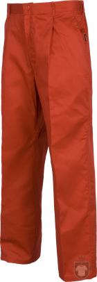 Pantalones Work Team laboral Industrial color Red :: Ref: RJ