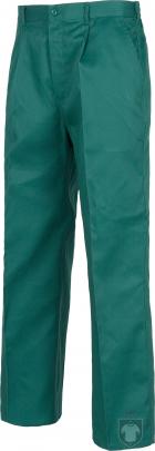 Pantalones Work Team laboral Industrial color Green :: Ref: VD