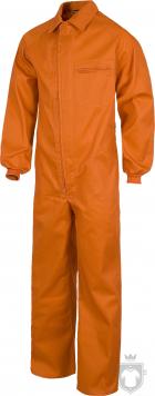 Equipaciones Work Team Buzo industrial  color Orange :: Ref: NR