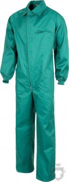 Equipaciones Work Team Buzo industrial  color Green :: Ref: VD