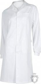 Ropa-laboral Work Team Bata blanca servicios W color White :: Ref: BL