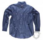 Camisas Work Team Camisa industrial tejana color Vaquero :: Ref: VQ
