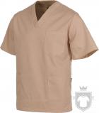 Camisas Work Team Pijama medico servicios color Beige :: Ref: BG