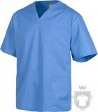 Camisas Work Team Pijama medico servicios color Light blue :: Ref: CL