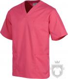 Camisas Work Team Pijama medico servicios color Pink :: Ref: RS
