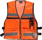 Chalecos Work Team Multibolsillos Alta visibilidad color High Visibility Orange :: Ref: NAV
