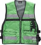 Chalecos Work Team Multibolsillos Alta visibilidad color Green :: Ref: VD