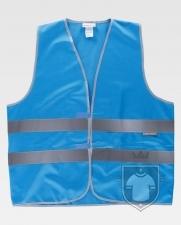 Chalecos Work Team HVTT03 Colores color Blue :: Ref: AZU
