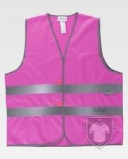 Chalecos Work Team HVTT03 Colores color Pink :: Ref: RS