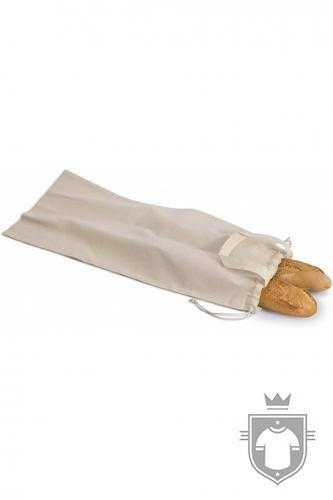 Kariban Saco de pão em algodão biológico