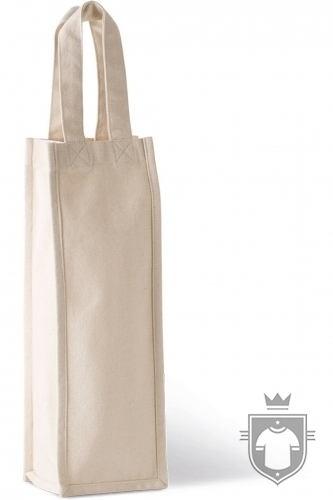 Kariban Saco porta garrafa em algodão canvas