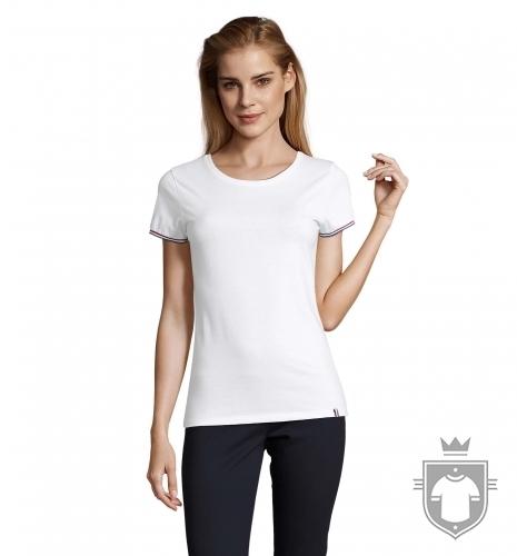T-shirts Sol's Rainbow Femme