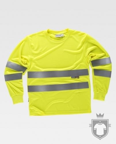 Camisetas Work Team Fluor C3933