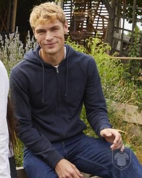 Clique Sweatshirt Orgânica Premium OC hoody full zip