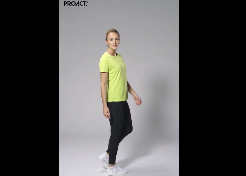 Vídeo de detalle Kariban T shirt Técnica Rpet W